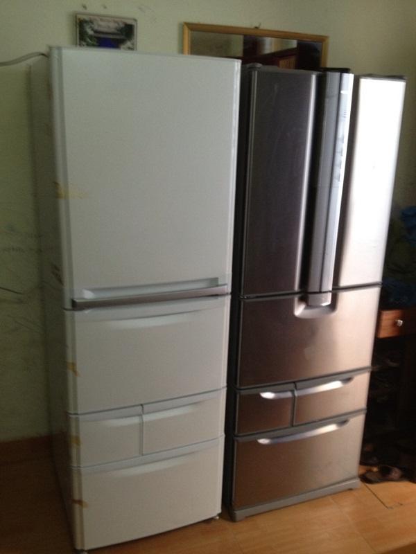 Tủ lạnh nhật National Inverter NR-F401A-SR 1