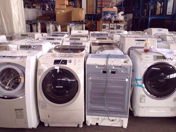Máy giặt Nhật Toshiba Inverter TW-2500VC(S) 1