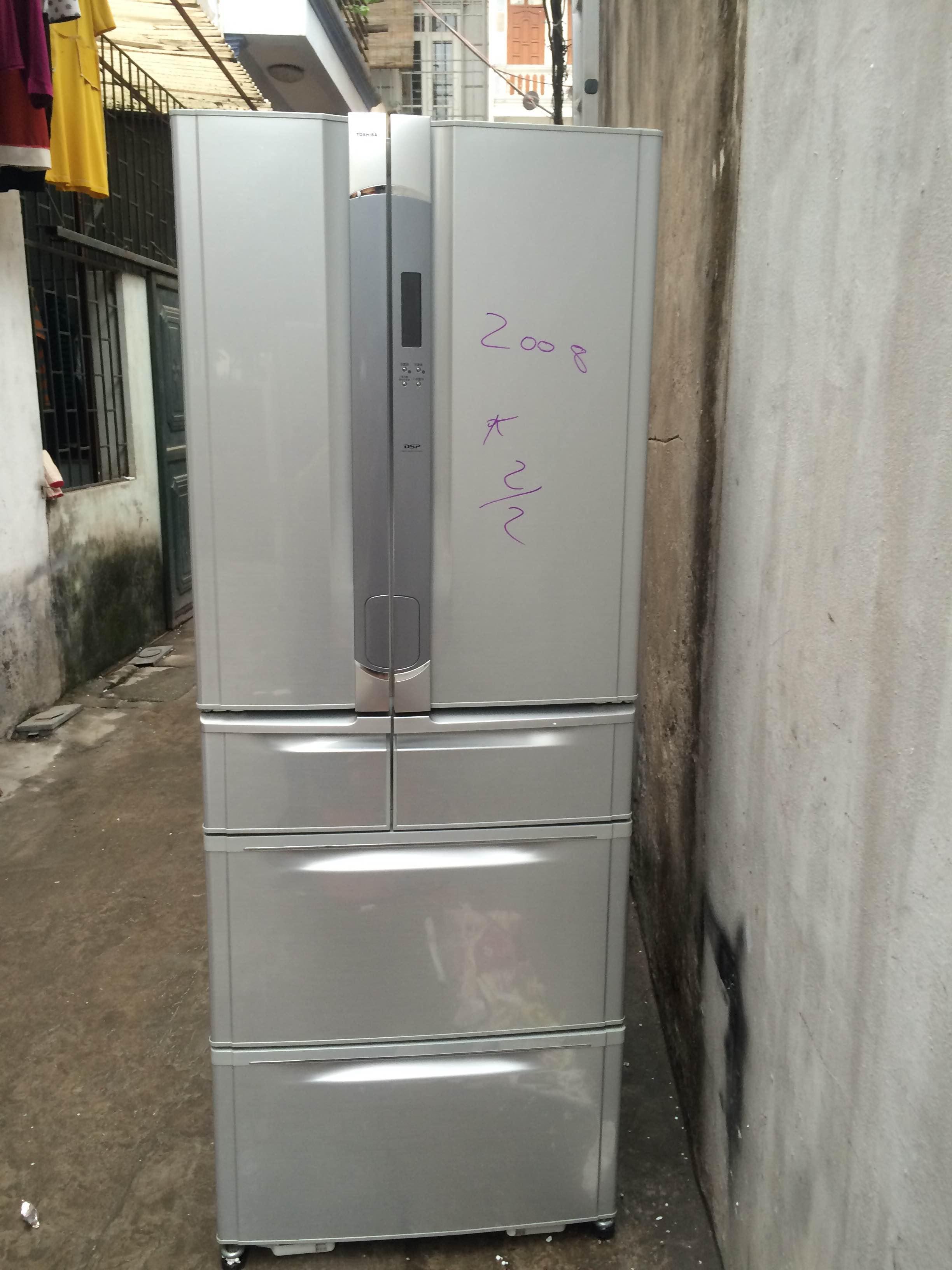 Tủ lạnh cũ nhật i tủ lạnh nội địa nhật toshiba,sharp,mitsubishi... bh 1 năm - 15