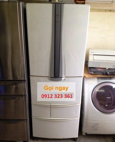Tủ lạnh nhật Sanyo Inverter SR-HX463G(W)